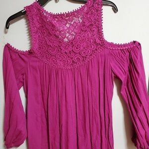 NWT Chelsea & Violet top